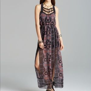 Free People: Moroccan Double Slit Maxi Dress
